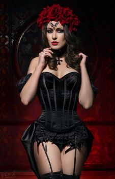 Gothic Diva Ksenia by FlexDreams
