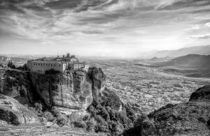 Greece - Meteora - Holy Monastery of St Stephen 01 by GiardQatar