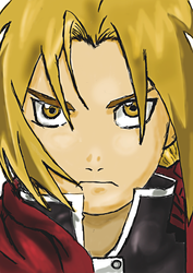 Edward Elrich - Full Metal Alchemist by xDome