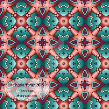 Repeating pattern, tessellation, seamless pattern by Artwyrd