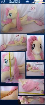 My Little Seapony: Fluttershy by BlackWater627