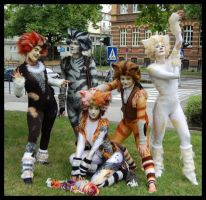 Cats costumes 3 by Rollwurst