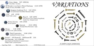 John Cage Variations CD #1 by KRPgraphics