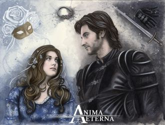 Maid Marian and Guy of Gisborne by AnimaEterna