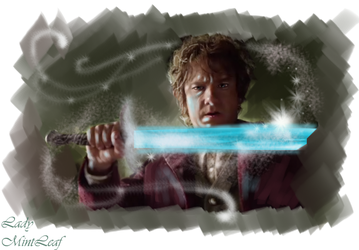Bilbo The magic of sting by LadyMintLeaf