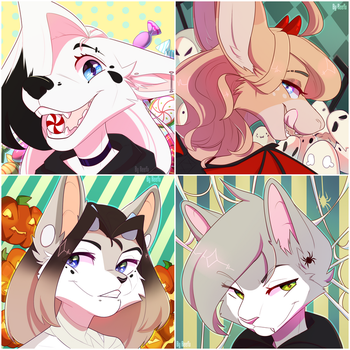 Halloween icons by ReefWhite14