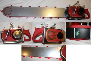 Grell Sutcliff Chainsaw by CosplayPropMaster