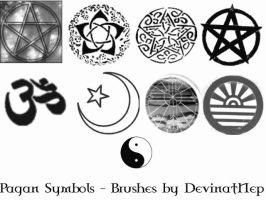 Pagan Symbols Brushes 5.0 by DeviantNep