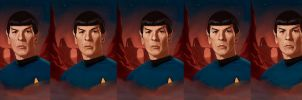 Spock Process by RileyStark