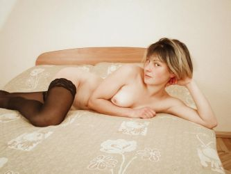 Julya - shy young russian girl by NudeDevil