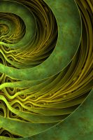 Green Marble Arcs by Janoscheck