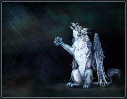 .: joy of rain :. by xdragonflyx