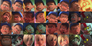 Wreck-it Ralph characters icons by Nutty-Nutzis