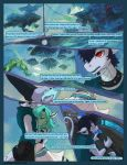 Asteria Six: Page 7. Less Than Perfect World. by The-SixthLeafClover