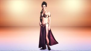 Carrie Fisher Leia Slave Girl II by Dave-Daring