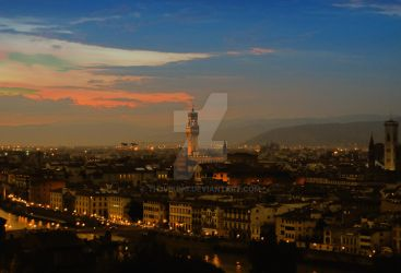 Palazzo Vecchio HDR by Th3Viking