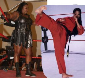 awesome kong vs jacqueline by WomenWrestlingLover