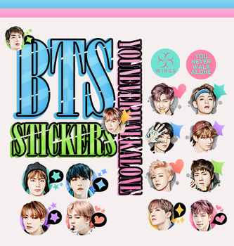 |BTS STICKERS.#2| by fxrst-love