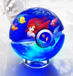 The Pokeball of The Little Mermaid by wazzy88