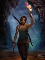 Lara Croft by PapurrCat