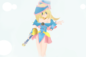 [MMDxYGO] Dark Magician Girl by SouNight