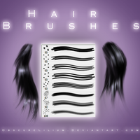 Hair Brushes by ObscureLilium