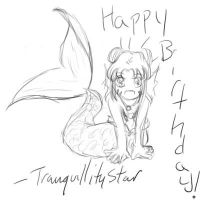 Birthday Doodle for Vagabond 2 by tranquillitystar