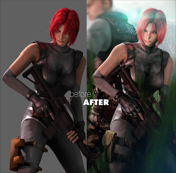 Dino Crisis Returns (Before After) by LitoPerezito
