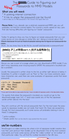 The Newb Guide to MMD Model Passwords by Xoriu