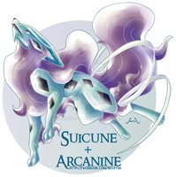 [Closed] Suicune X Arcanine [With Tutorial Video] by Seoxys6