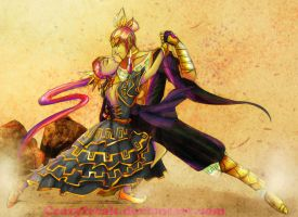 Dancing Nabs and Ganon by nabsgan