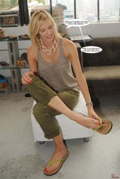 Kristen Taekman Checks Her Insoles by Red-Neptune