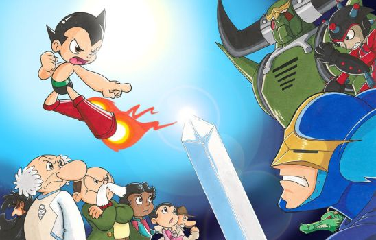 Astro Boy: Reluctant Hero by KicsterAsh