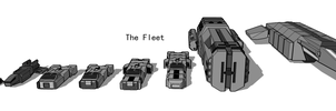 The Fleet Size Comparison by Kalith