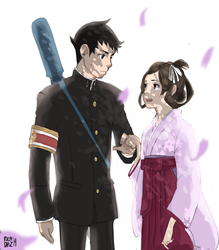 The Great Ace Attorney by vanipy05
