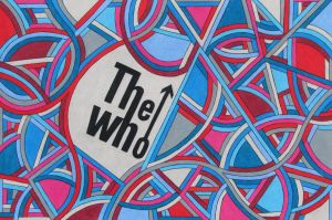The Who T-Shirt Design - Liner Weaving #3 by KyleWilcoxVisualArt