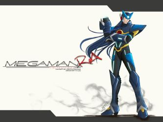 Megaman RA by the-newKid