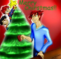 Merry Christmas Pic by BatMantle