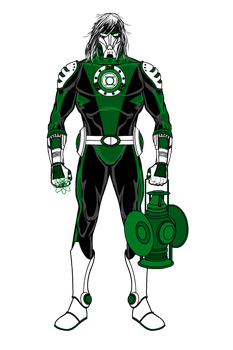 Green Lantern 2099 by BornAnimeFreak