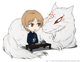 Natsume and Madara by sincerelyj