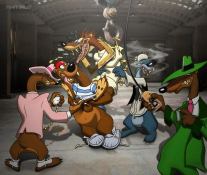 Who Framed Psycho Weasel by Foot-paws