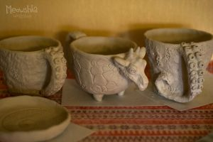 WIP: cups by miaushka-workshop