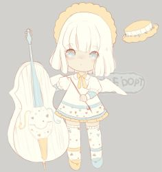 [Closed][Set Price] Cello Girl Adoptable-reduced by PickleAdopts