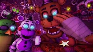 FNAF Ultimate Custom Night Coming June 28th!!! by Clawort-Animations