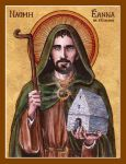 St. Enda of Aran icon by Theophilia