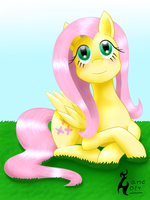 Fluttershy (again, lol) by zanclife