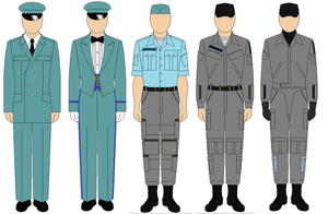 Confederate States Air Force Uniform by kyuzoaoi
