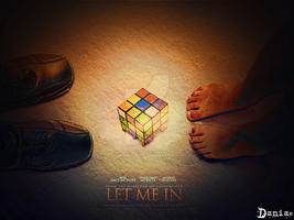 Let me in unofficial poster I by daniacdesign