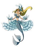 Bridgette the Mermaid by Kikaigaku