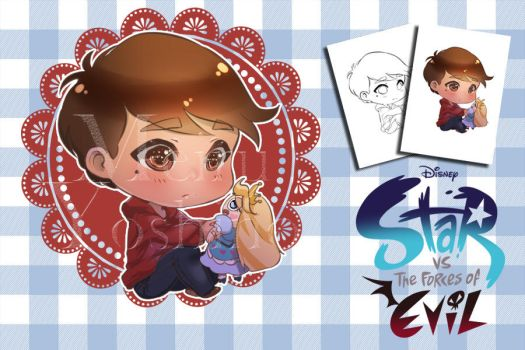 Marco Diaz - Chibi auction for points (Closed) by MeiruYoshino